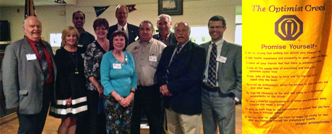 Optimist Club of Keego Harbor Officers